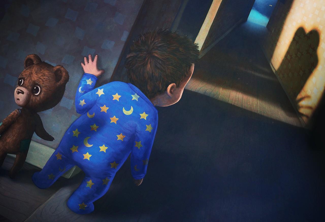 Ребенку снятся кошмары из-за того, что у него высокий порог чувствительности.