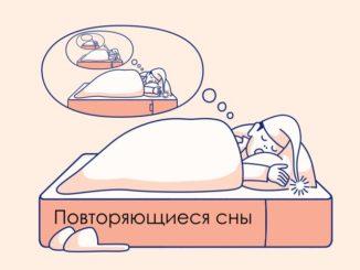 Статистические данные показывают, что особое место в жизни каждого человека занимают повторяющиеся сны