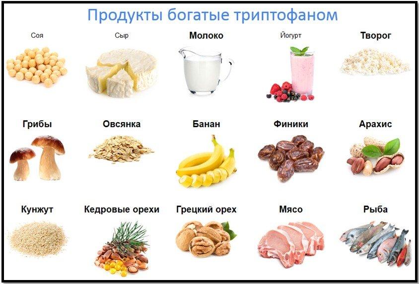 Ежедневное включение продуктов, богатых триптофаном в рацион, способствует выработке мелатонина в организме.